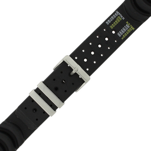 Citizen Watch Band Aqualand 24mm Rubber Watch Strap 59-L7321 - Main