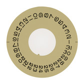 Date Dial Disc to Generic Rolex  1556 Champagne Color 2557-1556G - Main