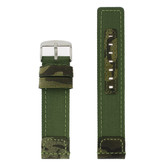 Leather Camo Watch Band by Tech Swiss - Top View