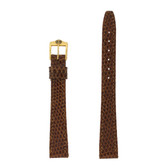Gucci Watch Band 13mm Tan models 2200L 3000L Genuine Lizard