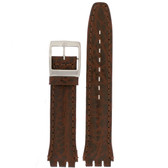 19mm Watch Band in Brown - Top View