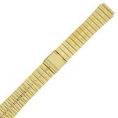 Metal Gold-Tone Stainless Steel Watch Band MET514