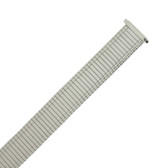 Watch Band Expansion Metal Stretch Silver Color Thin Band MET141