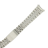 Watch Band Jubilee Style Link Curved Ends - TSMET242