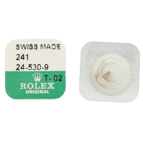 Original Rolex Crown 24-530-9 in 18kt Gold | Watch Material | Genuine Repair Parts