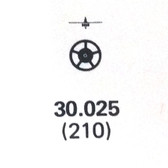 ETA 959.001 third 3rd wheel