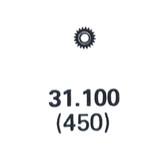 ETA 959.001 set wheel