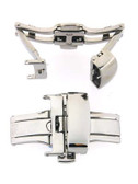 Deployment buckle stainless Steel with Push button -DEPLOYMENT BUCKLE 5 - Main
