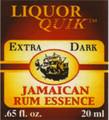 Dark Jamaican Rum Liqueur Extract