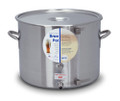 Polarware 60 quart Stainless Steel Brew Pot with Sight Gauge and Stainless Ball Valve