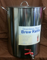 60qt Polarware Stainless Steel Pot w/ Brewer's Edge Kettle Valve Installed