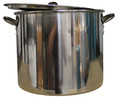 42 quart Stainless Steel Boiling Pot with Lid