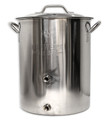 Brewers BEST 16 Gallon Brewing Kettle with Two Ports