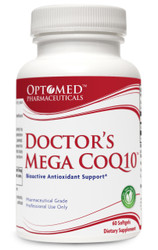 Doctor's Mega COQ10™~ Bioactive Antioxidant Support* 60 Softgels Pharmaceutical Grade Professional Use Only