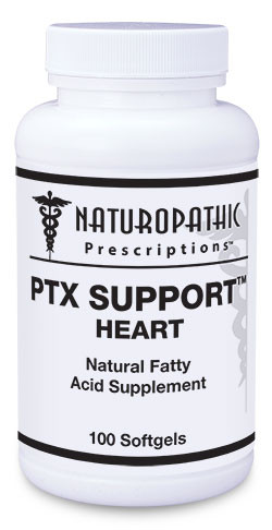 PTX SUPPORT™ HEART This mixed fatty acid supplement supplies a concentrated source of important omega-3, omega-6, and omega-9 fatty acids. An imbalance of omega-3 and omega-6 fatty acids may contribute to health problems, including heart disease and autoimmune disorders. Omega-3 is too low in most diets. Some types of omega-6 are too high, while others are too low. This product provides omega-3 plus selected active forms of omega-6 to help establish a healthier balance.