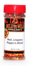 Red Jalapeno Peppers Diced