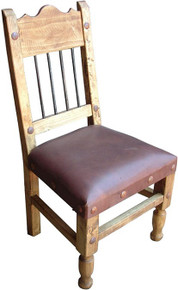Clavos Chair w/ Leather