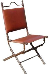 Tomas Iron Chair w/ Leather