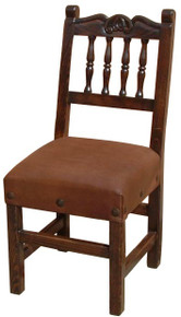 Carved Torno Back Chair