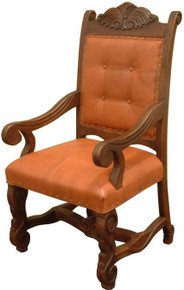 Cecilia Carved Arm Chair