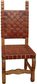 Hacienda Tejida Leather Chair 50% OFF * 6 LEFT AT THIS PRICE