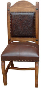 Rocio Tooled Leather Chair