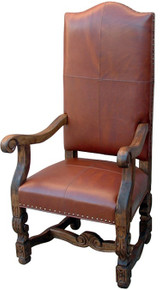 Allende Leather Arm Chair