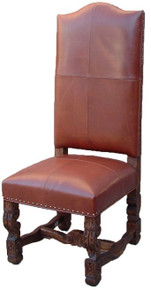 Mesquite Allende Leather Chair