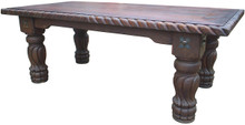 Mesquite Rope Dining Table