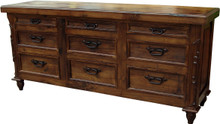 Mesquite 9 Drawer Dresser