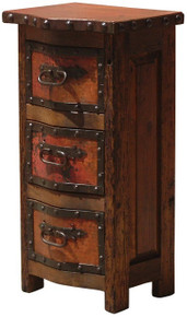 Copper 3 Drawer Alto Nightstand 25% OFF * 2 LEFT AT THIS PRICE