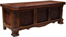 Mesquite Tooled Leather Desk