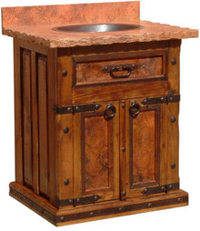 Merida Sink Cabinet w/ Full Marble Top