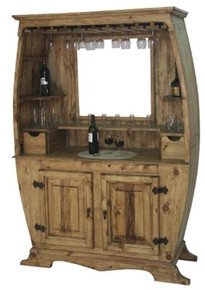 Barril Bar w/ Mirror