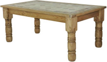 Rancho Stone Top 72'' Dining Table