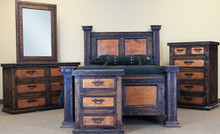 Finca Copper 5pc Queen Bedroom Set