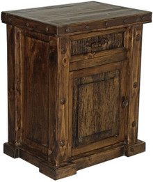 Z-SOLD OUT - Laguna Left Nightstand 50% Off