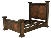 Antigua Copper King Bed