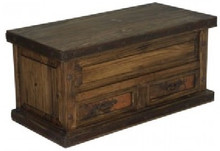 Antigua 2 Drawer Trunk w/ Copper