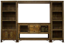 Urban Rustic 114'' Entertainment Center