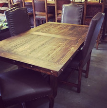 Z-SOLD OUT Las Piedras 72'' 5pc Dining Set 50% OFF