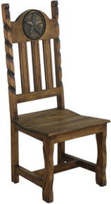 Rancho Star Chair w/ Rope -DR