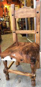 Torno Chair w/ Cowhide