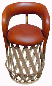 Equipal Cancun Cushioned Barstool