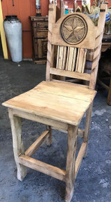 Rancho Rope & Star Counter Stool