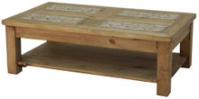 Cantera Coffee Table w/ Shelf 50% OFF *1 LEFT IN STOCK