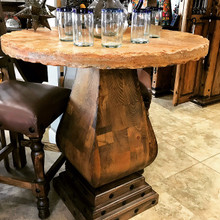Gitana Pub Table w/ Marble Top 40% OFF * 1 LEFT AT THIS PRICE