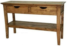 Chipilo Console Table w/ Shelf