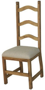 Ladderback Chair w/ Cushion