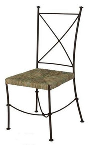 Taxco Iron Chair w/ Tule